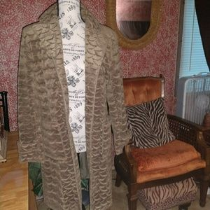 Vintage  Russian Trench Coat Small